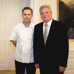Chef pan Batěk s prezidentem SRN